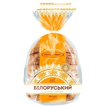 Хліб Київхліб Білоруський половина нарізка 350г - купити, ціни на Фуршет - фото 1