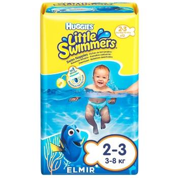 Подгузники-трусики Huggies для плаванья 2-3 12шт - купить, цены на Восторг - фото 1