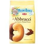Mulino Bianco Abbracci Cookie with Milk Chocolate 350g