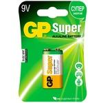 Батарейка GP Super ALK 9V,6LF22,1
