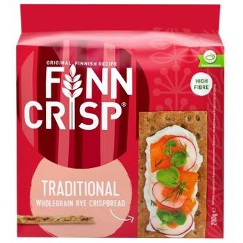 Хлібці Finn Crisp традиційні житні 200г - купити, ціни на МегаМаркет - фото 1