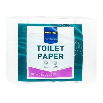 Metro Professional Two-layer Toilet Paper 24pcs - buy, prices for Metro - photo 1