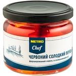 Красный сладкий перец Metro Chef фаршированный сыром 280г