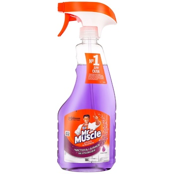 Чистящее средство Mr.Muscle Лаванда для стекла 500мл