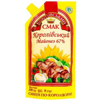 Майонезный соус Королевский вкус Королевский 67% 300г