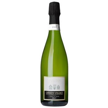 Игристое вино Henri Weber Cream Els белое брют 12% 0,75л