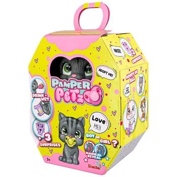 Игрушка Simba Pamper Petz Котёнок - купить, цены на Ашан - фото 1