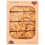 Пирожное Charlotte Микадо карамельно-ореховый 300г