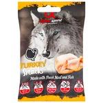 Снеки Alpha Spirit для собак зі смаком індички 50г