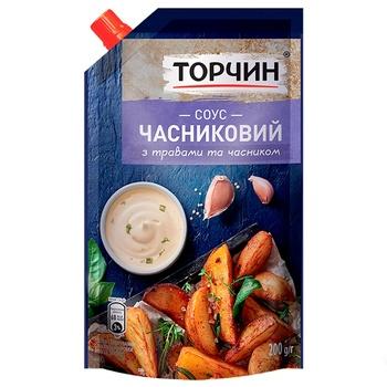 Соус ТОРЧИН® Чесночный 200г - купить, цены на Восторг - фото 1
