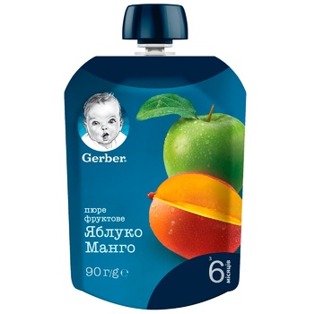 Gerber for children apple-mango puree 90g