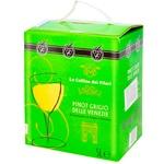 Вино Le Colline dei Filari Піно Гріджіо біле сухе 12% 5л