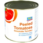 Aro Tomatoes peeled in Iron jar 2.5kg
