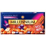 Шоколад молочный Millennium Golden Nut с цельными лесными орехами и изюмом 100г