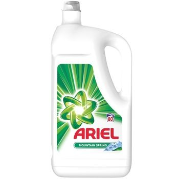Ariel Washing gel Mountain spring 4,4l