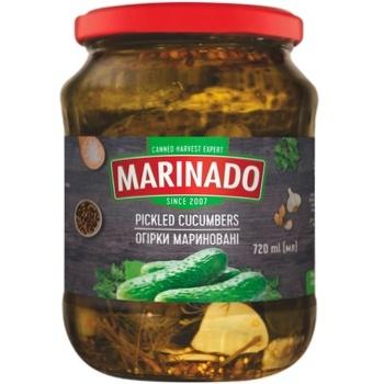 Огурцы Marinado маринованные 720мл