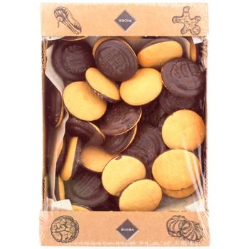 Rioba Delitsiya with cherry cookies 1000g