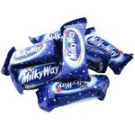 Цукерки Milky Way міні з суфле в молочному шоколаді вагові