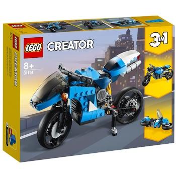 Lego Creator Super Motorcycle Constructor