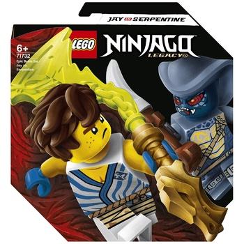 Lego Ninjago Jay vs Serpentine Epic Battle Constructor