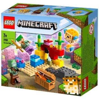 Lego Minecraft Coral Reef Constructor