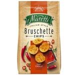 Хлебные брускеты Maretti запеченные со вкусом сладкого перцы чили 70г