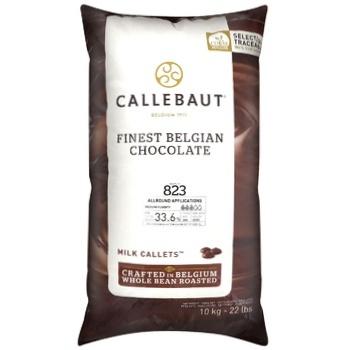 Callebaut Finest Belgian Chocolate Milk Callets 33,6% 10kg