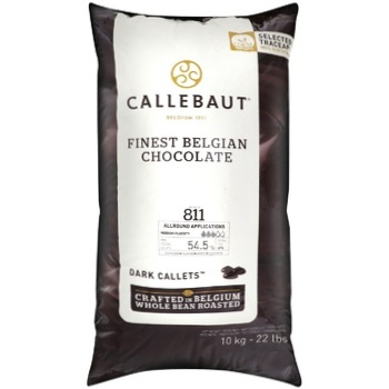 Callebaut Finest Belgian Chocolate Dark Callets 55% 10kg