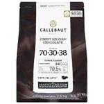 Callebaut Finest Belgian Chocolate Dark Callets 70,5% 2,5kg