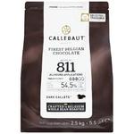 Callebaut Finest Belgian Chocolate Dark Callets 55% 2,5kg