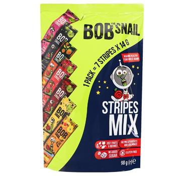 Цукерки Bob Snail Асорті страйпи 98г - купити, ціни на Метро - фото 1