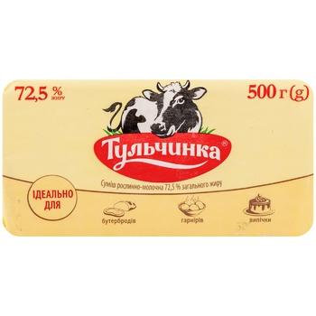 Смесь Тульчинка растительно-молочная 72,5% 500г - купить, цены на Метро - фото 2