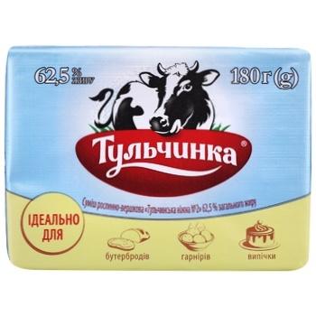 Суміш Тульчинка рослинно-вершкова ніжна 62,5% 180г - купити, ціни на CітіМаркет - фото 2