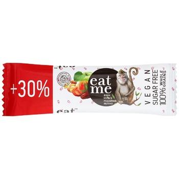 Eat Me Date-Dried Apricots-Raisins-Apple Grain Bar 40g - buy, prices for CityMarket - photo 1