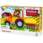 DoDo 300371 Bear-Tractor 30 Elements Puzzle