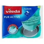 Vileda Pur Active Kitchen Sponge for Ware 2pcs