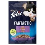 Food Felix with lamb in jelly for cats 85g Hungary