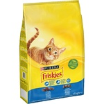 Friskies Salmon And Vegetable Dry For Cats Food