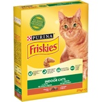 Friskies Dry Food for Indoor Cats with Chicken and Garden Grass 270г
