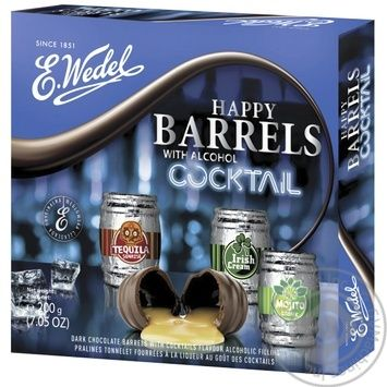 Candy Wedel Cocktail 200g in a box - buy, prices for MegaMarket - image 1