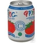 Напій Фрутінг з полуничним соком 238мл - купити, ціни на МегаМаркет - фото 5