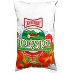 Йогурт Злагода персик-маракуйя нежирный 1000г пленка Украина