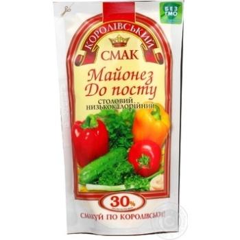Майонез Королівський смак До посту 30% д/п 200г