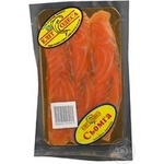 Fish atlantic salmon Elite-odessa cutting 100g vacuum packing Ukraine