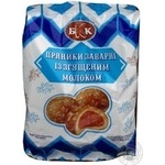 Pryaniki Bkk milk scalded 240g sachet Ukraine
