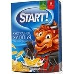 Flakes Start grain in glaze 375g cardboard box Ukraine