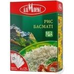 Рис круглий Алімпекс Басматі ш/п 4*125г