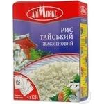 Рис круглий Алімпекс Тайський Жасмін ш/п 4*125г