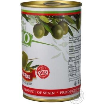Оливки Ріо зелені б/кіст.з/б 300г - купити, ціни на CітіМаркет - фото 2