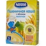 Каша детская Нестле пшеничная с яблоком молочная сухая быстрорастворимая с бифидобактериями с 5 месяцев 250г Россия